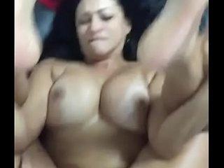 Pakistani Aunty getting fucked hard