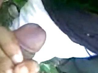 Indian Girl Sucking dick and eat cum