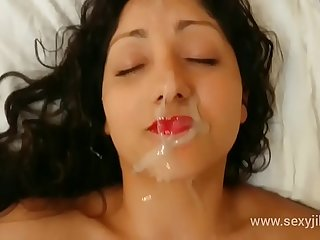 Indian bhabhi blackmailed, used, abused, molested and gets massive facial cumshot hindi audio POV Indian